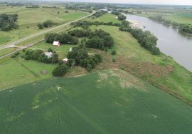 104.03 +/- Acres – Irrigated Crop, Grass, CRP, House, Outbuildings, and North Loup River Frontage – New Listing!