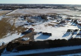 38.65 +/- Custer County Nebraska Acreage With Irrigated Crop! – New Pricing!