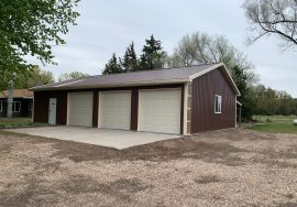 2 Lots with 3 car garage, Lake Ericson, Nebraska