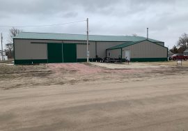 7200 SQ FT Commercial Utility Building and Office, Long Pine, NE
