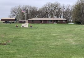 House, attached garage, outbuildings and 37 acres – south of Bassett, NE – Pending